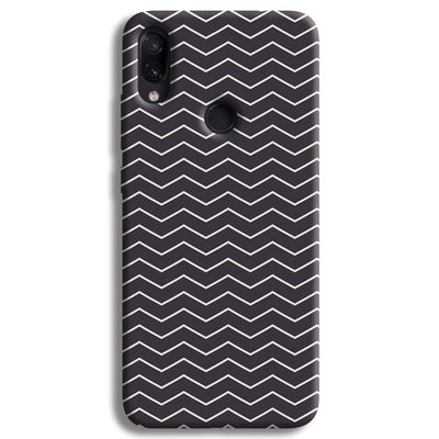 Chevron Pattern Redmi Note 7 Case
