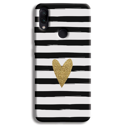 Bling Heart Redmi Note 7 Case