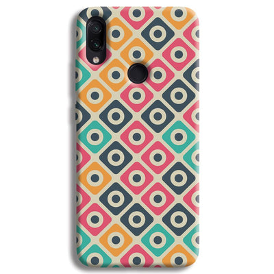 Shapes Pattern Redmi Note 7 Case