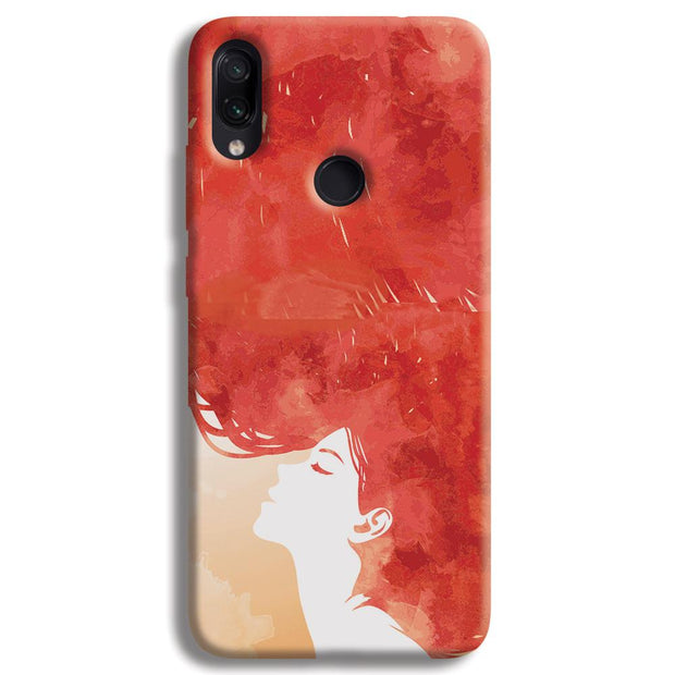 Red Cause Redmi Note 7 Case