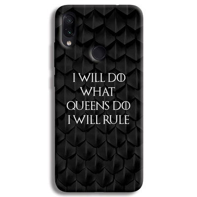 Daenerys Quotes Redmi Note 7 Pro Case
