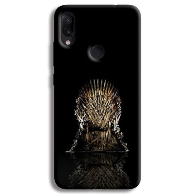 Black Iron Thrones Redmi Note 7 Pro Case