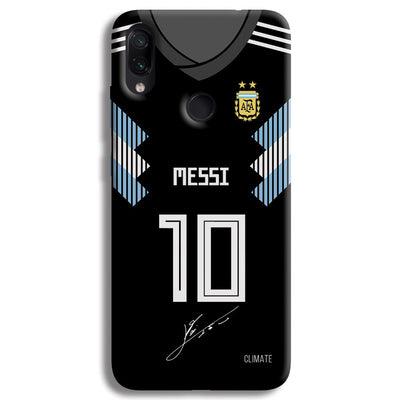 Messi (Argentina) Jersey Redmi Note 7 Pro Case
