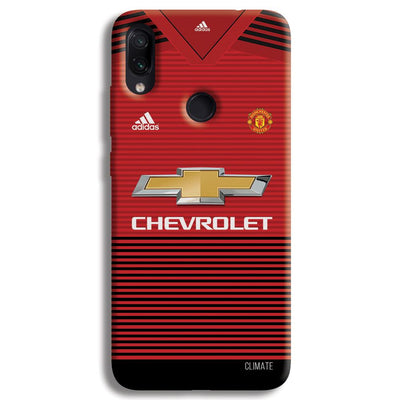 Manchester United Jersey Redmi Note 7 Pro Case