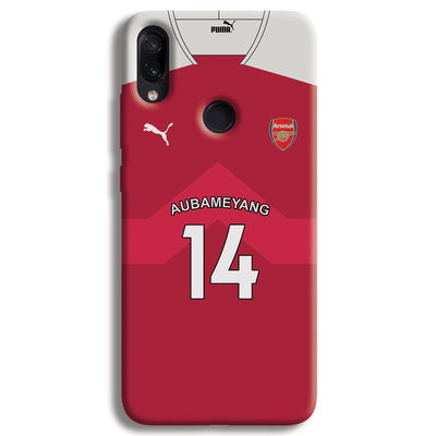Aubameyang Jersey Redmi Note 7 Case