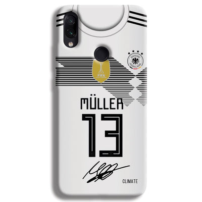 Muller Jersey Redmi Note 7 Pro Case
