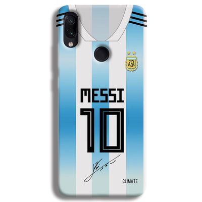 Messi Jersey Redmi Note 7 Case