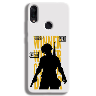 Pubg Winner Winner Redmi Note 7 Case