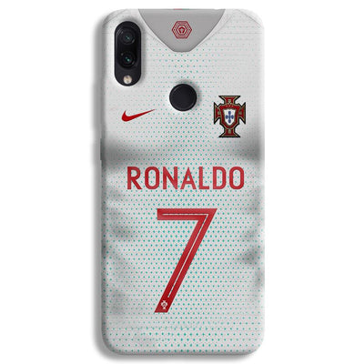 Ronaldo Portugal Jersey Redmi Note 7 Case