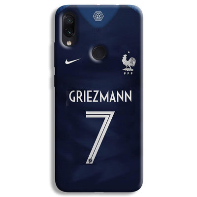 Griezmann France Jersey Redmi Note 7 Case