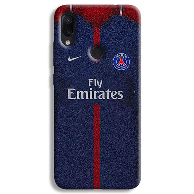 PSG Jersey Redmi Note 7 Pro Case