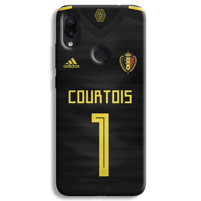 Thibaut Courtois of Club Jersy Redmi Note 7 Pro Case