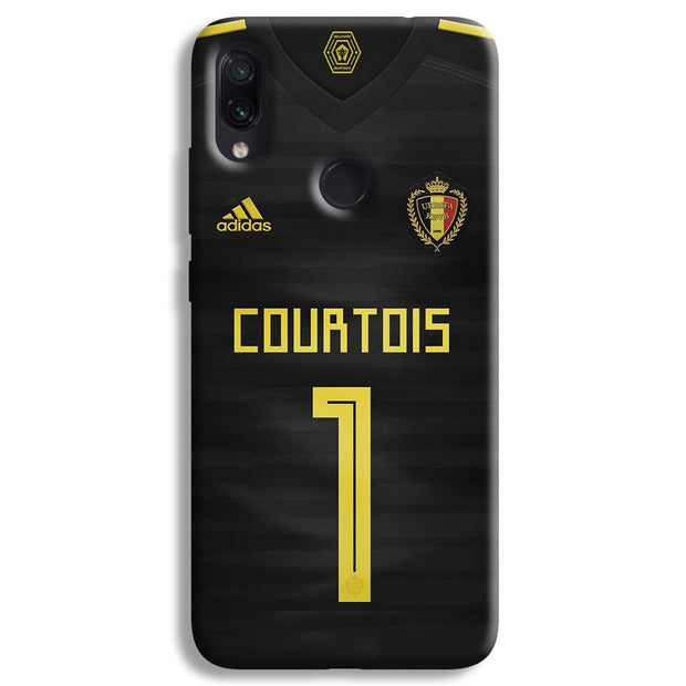 Thibaut Courtois of Club Jersy Redmi Note 7 Case