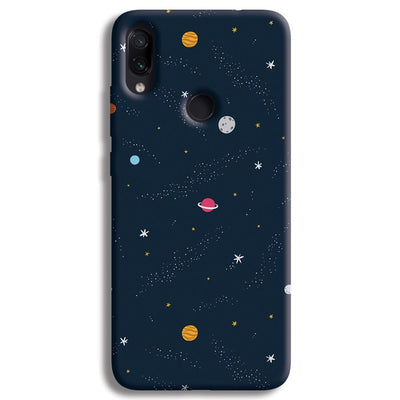 Space Redmi Note 7 Case