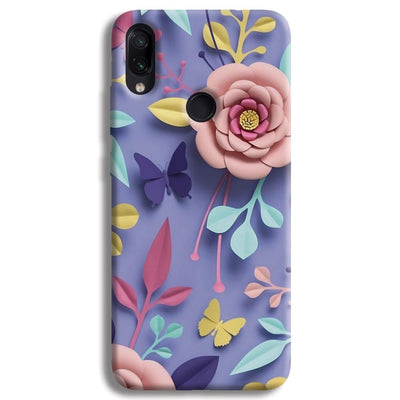 Lively Floral Redmi Note 7 Case
