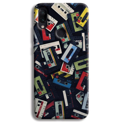 Retro Mix Tape Redmi Note 7 Case