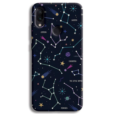 Constellation Doodle Redmi Note 7 Case