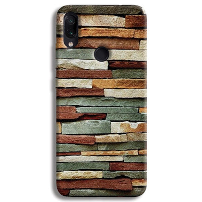 Brick Pattern Redmi Note 7 Case