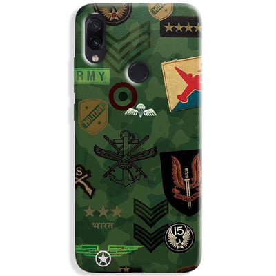 Indian Army Redmi Note 7 Pro Case