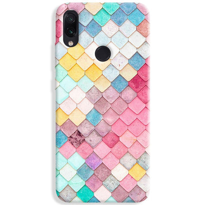 Colorful Roof Tiles Pattern Redmi Note 7 Pro Case