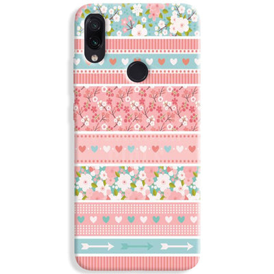 Pink Washi Tape Redmi Note 7 Pro Case