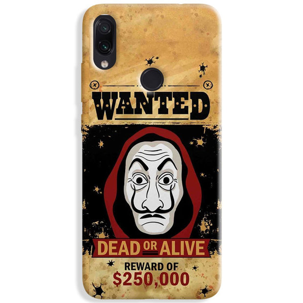 Wanted Bella Redmi Note 7 Pro Case