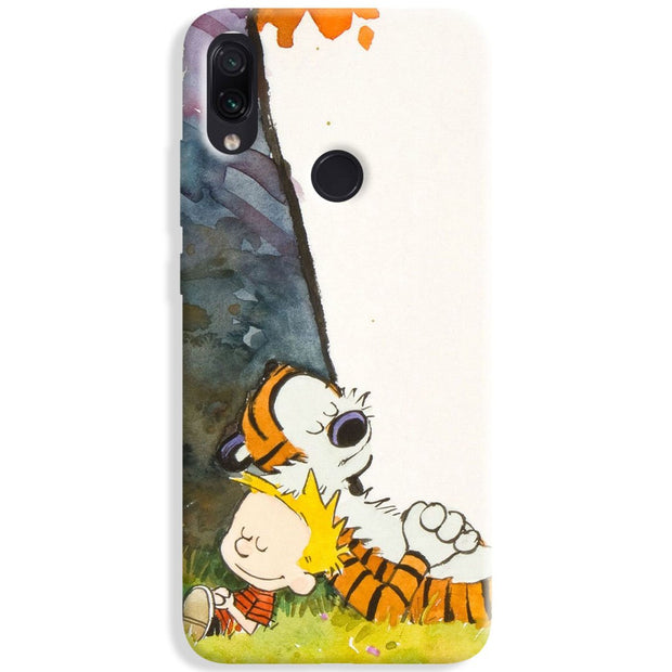 Calvin And Hobbes Redmi Note 7 Pro Case