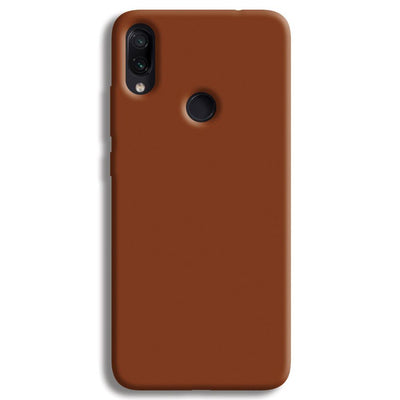 Brown Redmi Note 7 Case