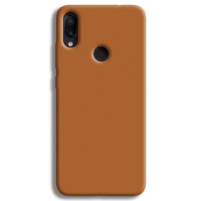 Lite Brown Redmi Note 7 Case