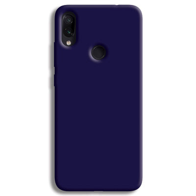 Navy Blue Redmi Note 7 Case
