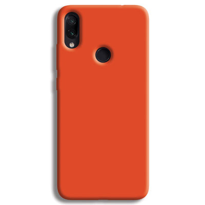 Orange Redmi Note 7 Case