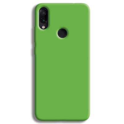 Green Redmi Note 7 Case
