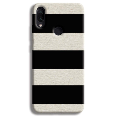 Black & White  Redmi Note 7 Case
