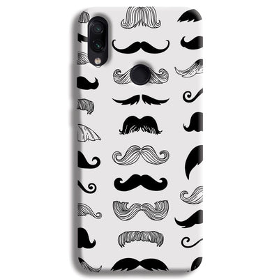 Moustache  Redmi Note 7 Case