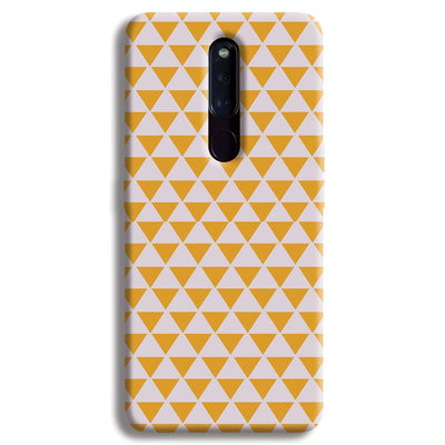 Yellow Triangle OPPO F11 Pro Case
