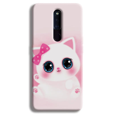 Pink Cat OPPO F11 Pro Case