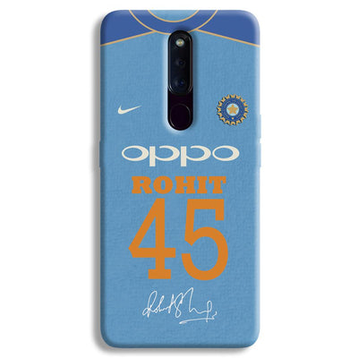 Rohit Sharma Jersey OPPO F11 Pro Case