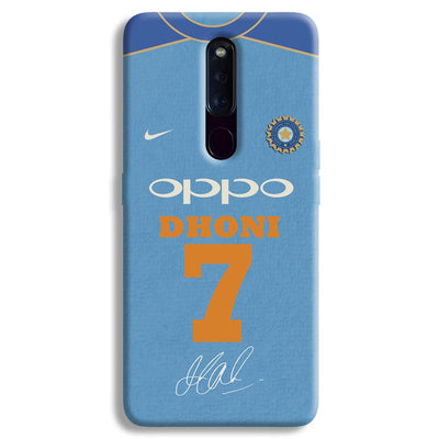 Dhoni Jersey OPPO F11 Pro Case