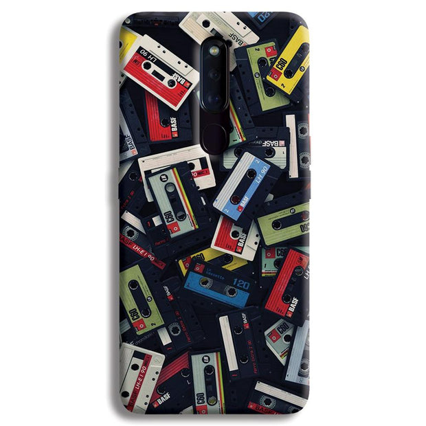 Retro Mix Tape OPPO F11 Pro Case