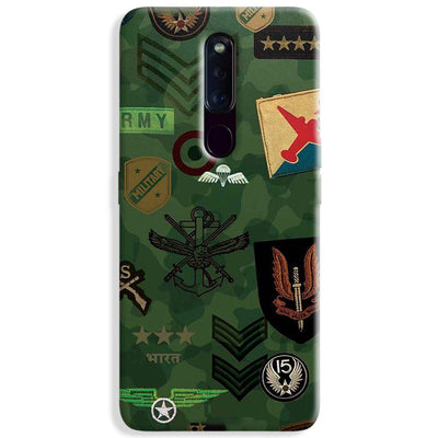 Indian Army Oppo F11 Pro Case
