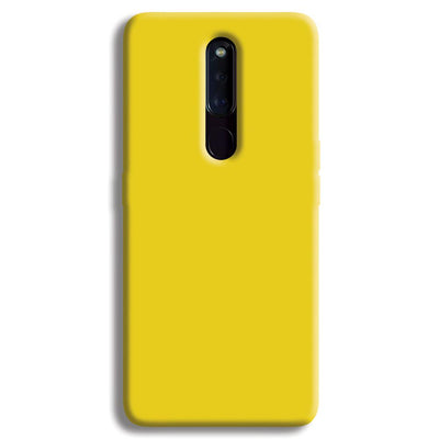 Yellow Shade OPPO F11 Pro Case