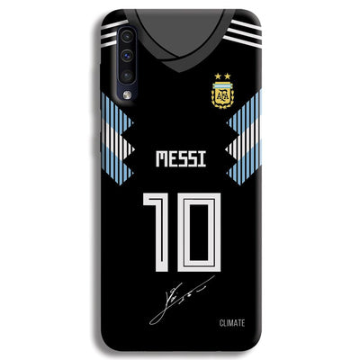 Messi (Argentina) Jersey Samsung Galaxy A50 Case