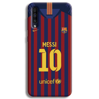 Messi (FC Barcelona) Jersey Samsung Galaxy A50 Case