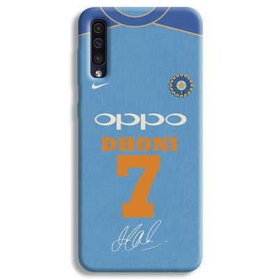 Dhoni Jersey Samsung Galaxy A50 Case