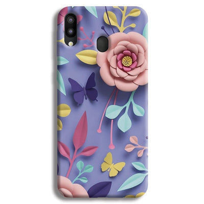 Lively Floral Samsung Galaxy M20 Case