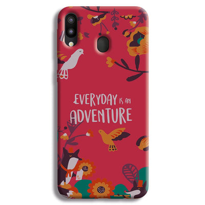Everyday Is An Adventure Samsung Galaxy M20 Case