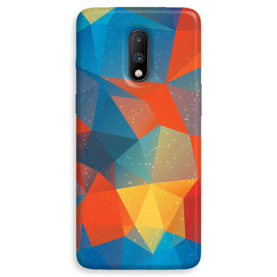Mint Color Tiles OnePlus 7  Case
