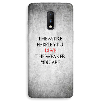 The More People Love You OnePlus 7  Case