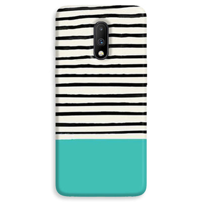 Aqua Stripes OnePlus 7  Case