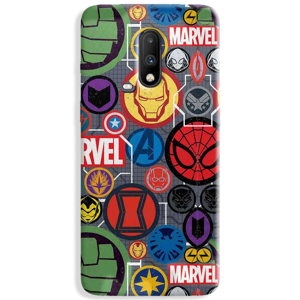 Marvel Iconic Mashup OnePlus 7 Case